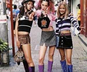 90s, fashion, and japanese image