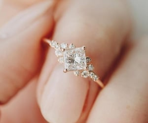 ring, wedding, and jewelry image