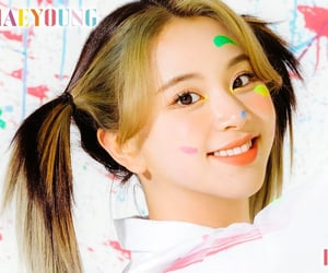 twice, son chae-young, and chaeyoung image