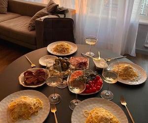 comida, fancy, and pasta image