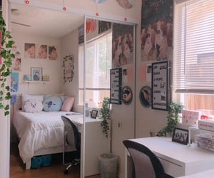 bts, bedroom, and kpop image