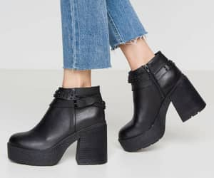 bootie, black, and cafe image