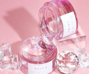 aesthetic, diamonds, and pink tones image