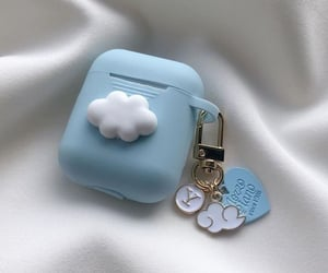 accessory, apple, and blue image