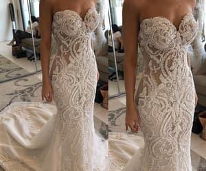 robe de mariée, mermaid wedding dress, and elegant wedding dresses image