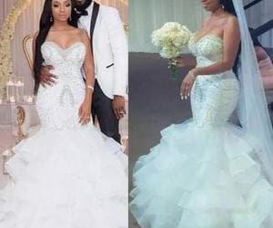 robe de mariée, beaded wedding dresses, and boho wedding dresses image