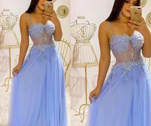 evening gown, robe de soirée, and cheap prom dresses image