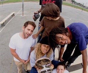 film, mid90s, and skate image