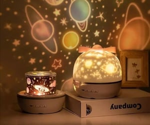 comfy, cute, and night lamp image