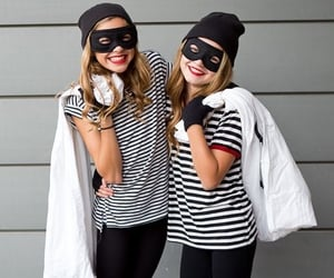 bff, criminals, and halloween costumes image