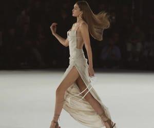 model, gigi hadid, and dress image