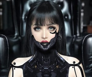 beautiful, cosplay, and cyborg image