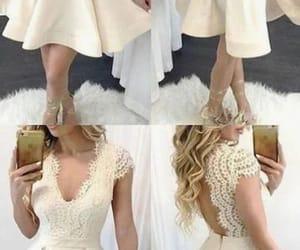 cocktail dresses, champagne prom dresses, and vestidos de novia image