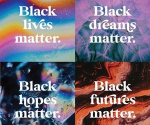 2020, blm, and black lives matter image