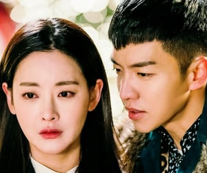 korean, romantic, and series image