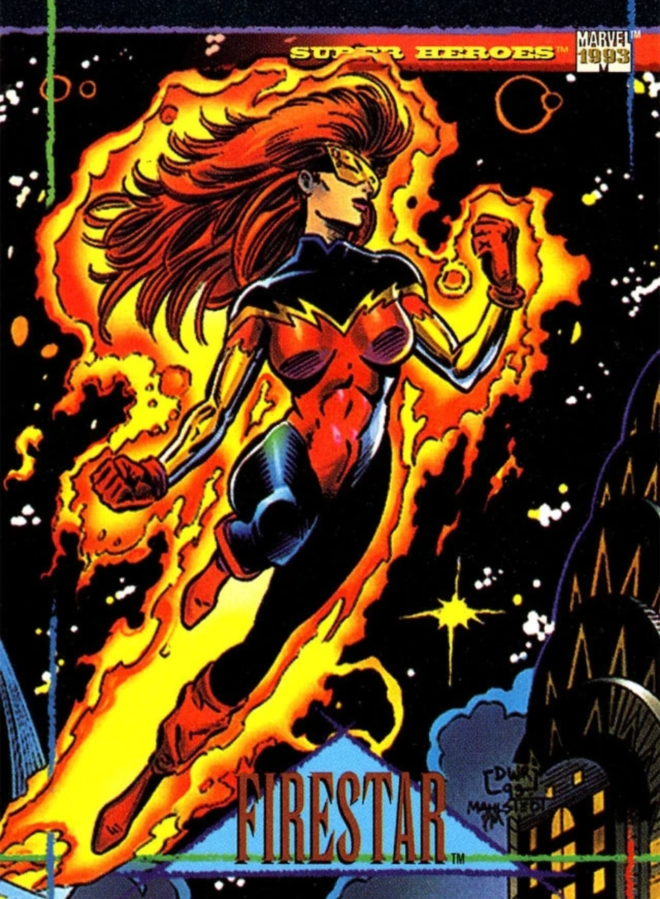 comic book, Marvel, and firestar image