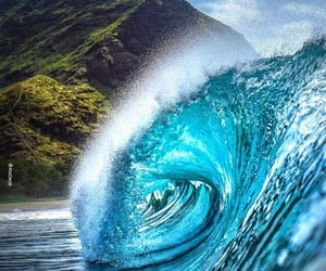hawaii, 🌊, and the waves image