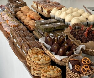 bakery, cake, and Cookies image