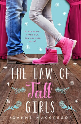 book, the law of tall girls, and joanne macgregor image