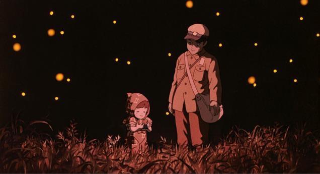 anime, grave of the fireflies, and studio ghibli image