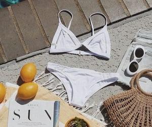 bikini, ete, and vacances image