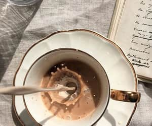 coffee, aesthetic, and book image