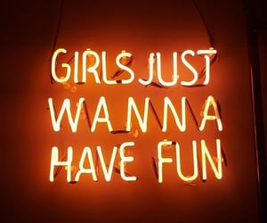 girls, fun, and light image