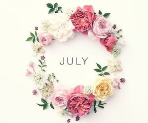 july, month, and mois image