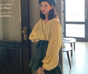 fashion, kfashio, and korean style image