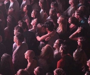 love, couple, and concert image