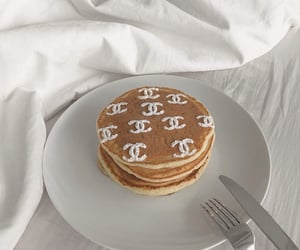 food, chanel, and pancakes image