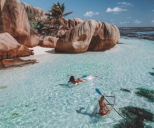 summer, beach, and nature image
