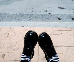 socks, stripes, and sunshine image