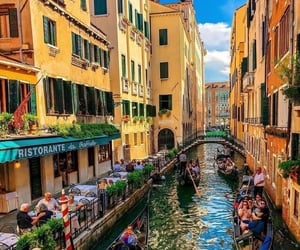 travel, architecture, and boats image