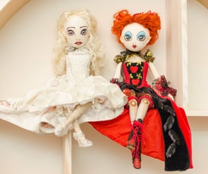 alice in wonderland, tim burton inspired, and collectible doll image