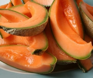 fruit, food, and melon image