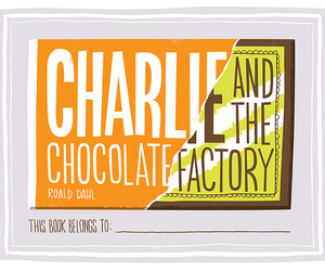 charlie and the chocolate factory, chocolate, and illustration image