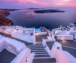 travel, beautiful, and Greece image