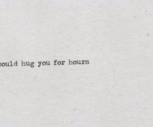 hugs, quotes, and cute image