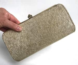 etsy, epsteam, and gold evening bag image