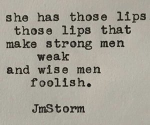 lips, quote, and j.m storm image