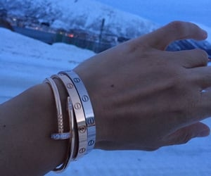 girls, jewelry, and cartier image