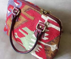 etsy, earthy colors, and satchel image