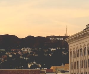 hollywood, buildings, and city image