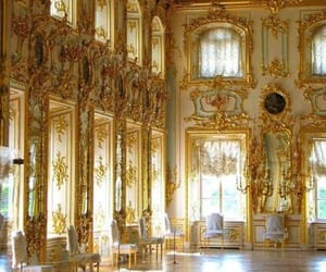 architecture, luxury, and gold image