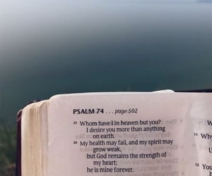 bible, quotes, and psalm image