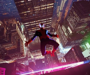 cinema, Marvel, and spiderverse image