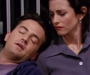monica and chandler, mondler, and friends image