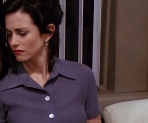 monica geller, friends monica, and friends season 1 image