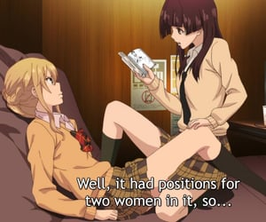 anime, citrus, and girls image